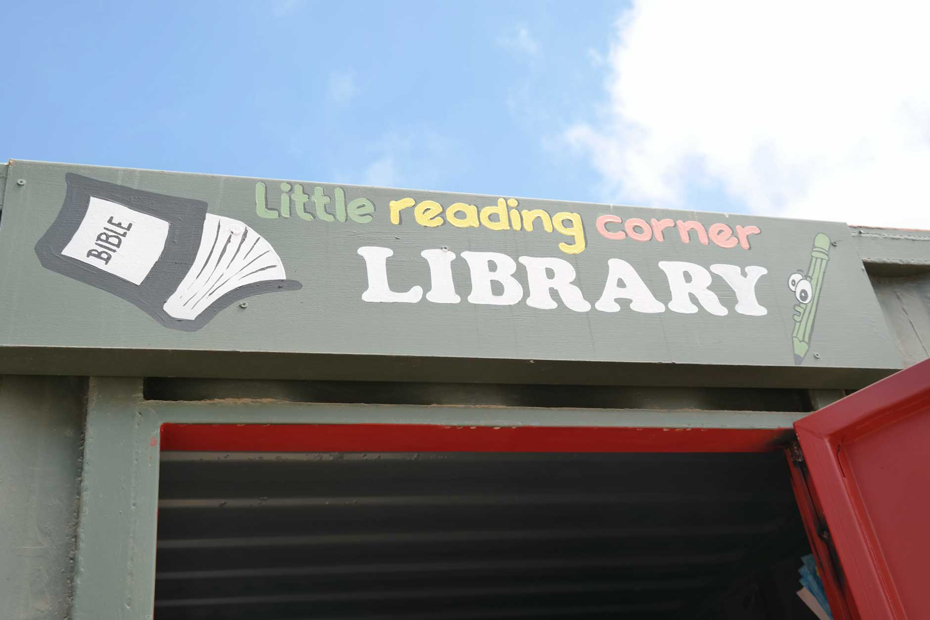 Libary in DRC